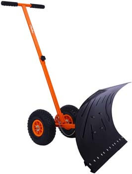 8. Ohuhu Snow Shovel