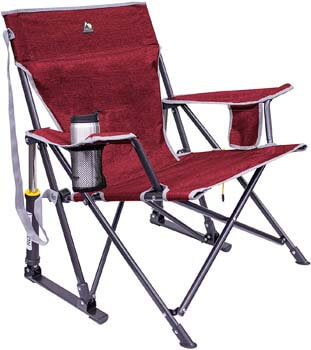 2. GCI KickBack Rocker Chair