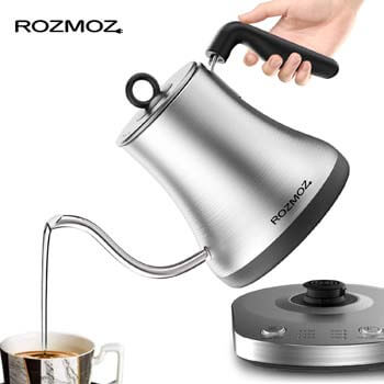 5. Rozmoz Electric Kettle with Temperature Control
