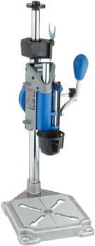 9. Dremel Drill Press Rotary Tool Workstation Stand with Wrench