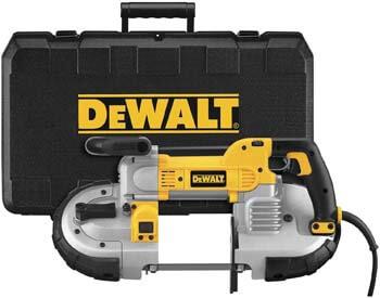 1. DEWALT Portable Band Saw, Deep Cut, 10 Amp, 5-Inch (DWM120K)