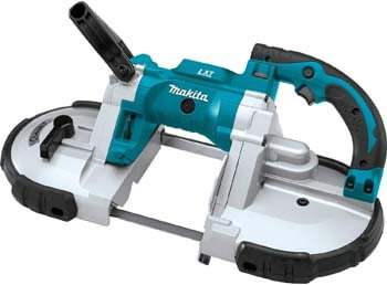 6. Makita XBP02Z 18V LXT Lithium-Ion Cordless Portable Band Saw, Tool Only