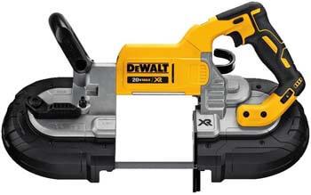 2. DEWALT 20V MAX Portable Band Saw, Deep Cut, Tool Only (DCS374B)