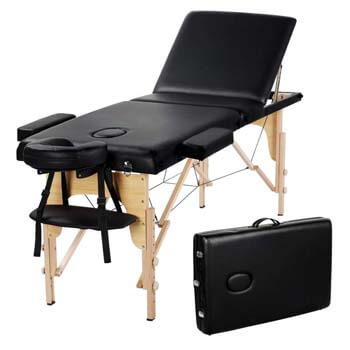 5. Yaheetech Massage Table Portable Massage Bed Massage Therapy Table Spa Bed