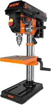 3. WEN 4210T 10 In. Drill Press with Laser