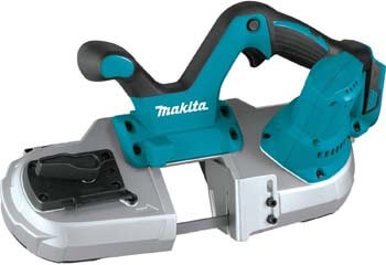 10. Makita XBP03Z 18V LXT Lithium-Ion Cordless Compact Band Saw, Tool Only
