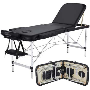 4. Yaheetech Massage Table Portable Massage Bed