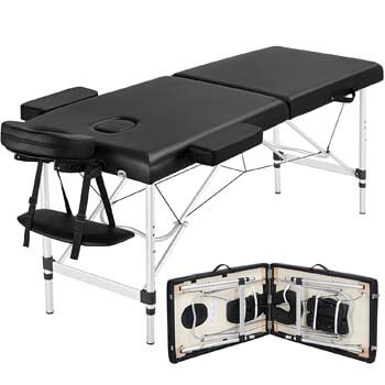 3. Yaheetech Portable Massage Table 84inch Massage Bed