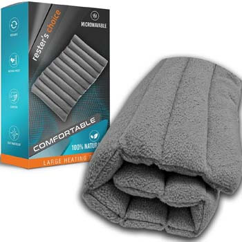 7. Rester's Choice All-Natural Large Heating Portable Pad