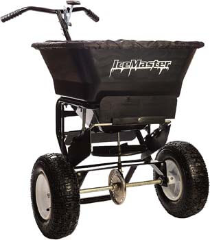 4. Ice Master 5000 - Walk Behind Salt Spreader