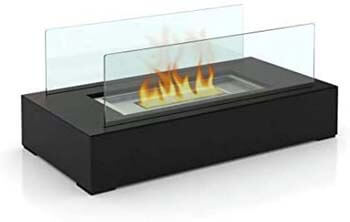 7. GOOD GO SHOP Fire Desire's Cubic Bio Ethanol Fireplace