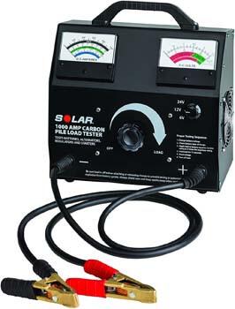 6. Clore Automotive Solar 1876 1000 Amp Carbon Pile Battery Load Tester