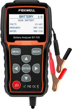 5. FOXWELL BT705 12V 24V Car Battery Tester