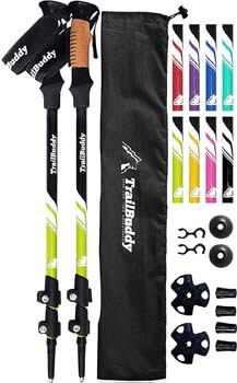 1. TrailBuddy Trekking Poles