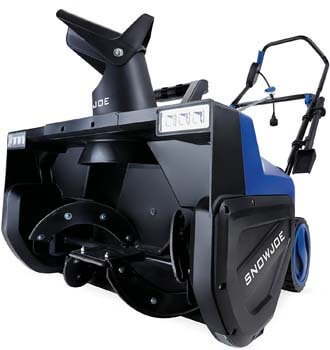 4. Snow Joe SJ627E Electric Snow Thrower | 22-Inch | 15-Amp | w/Dual LED Lights
