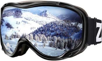 3. ZIONOR Lagopus Ski Snowboard Goggles UV Protection Anti Fog Snow Goggles