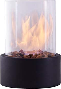3. Danya B. Indoor/Outdoor Portable Tabletop Fire Pit