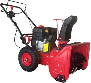 8. PowerSmart DB7622H 22 in. 2-Stage Manual Start Gas Snow Blower