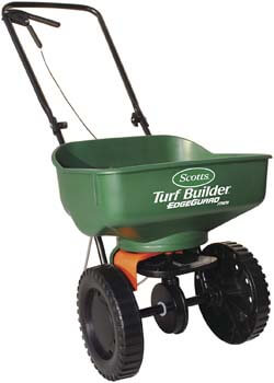 7. Scotts Turf Builder Edgeguard Mini Broadcast Spreader