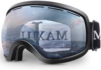 6. OTG Anti-Fog Snowboard Skate Snowmobile Interchangeable Double-Layer Spherical Lens