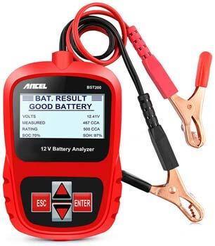 1. ANCEL BST200 Car Battery Load Tester