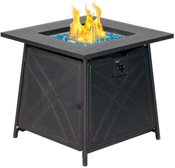 5. BALI OUTDOORS Gas Fire Pit Table
