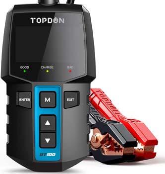 4. TOPDON BT100 100-2000 CCA Automotive Alternator Tester
