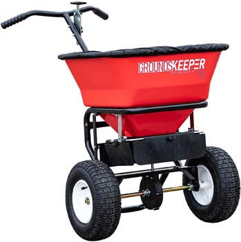 2. Buyers Products 3039632R Grounds Keeper Salt Spreader, Red