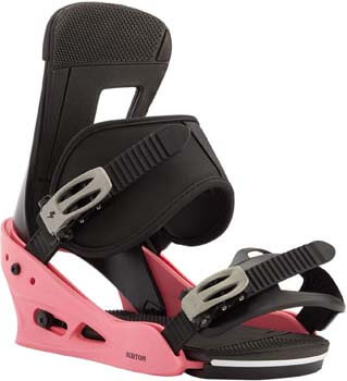 1. Burton Freestyle Snowboard Bindings Men's