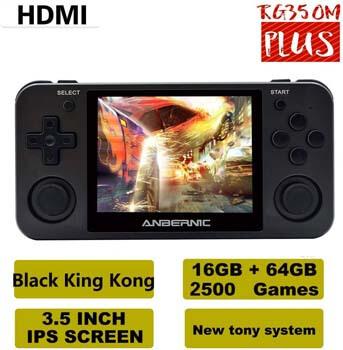 3. BAORUITENG RG350M Handheld Game Console