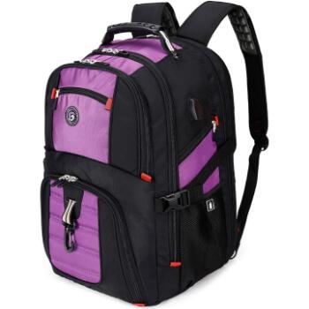 7. SHRRADOO Extra Large 50L Travel Laptop Backpack
