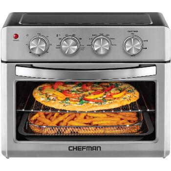 2. Chefman Air Fryer Toaster Oven