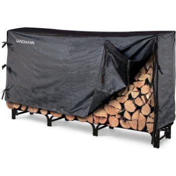 5. Landman Firewood Rack With Cover