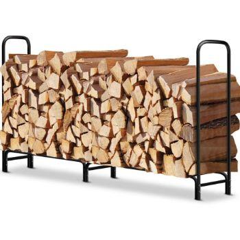 7. Amagabeli Outdoor Firewood rack